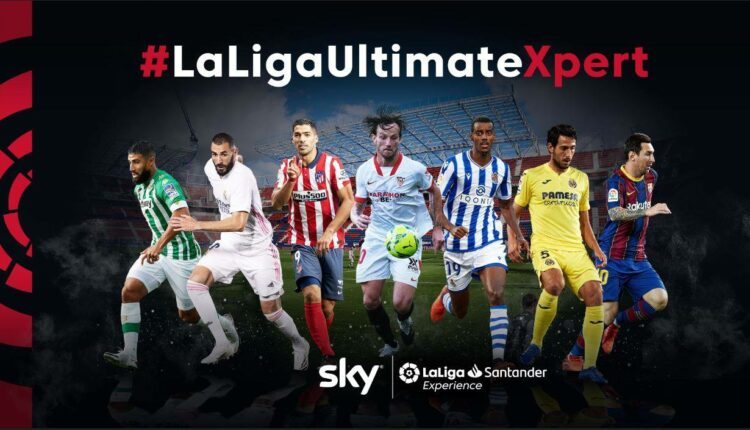 Concurso Sky Sports #LaLigaUltimateXpert: Gana premios de la liga española