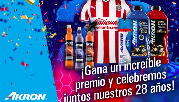 Concurso Akron 28 Aniversario: Gana jersey de Chivas, gorra autografiada y más