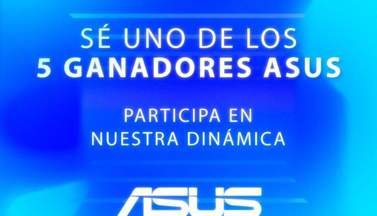 Concurso Asus: Gana 1 de 5 premios especiales