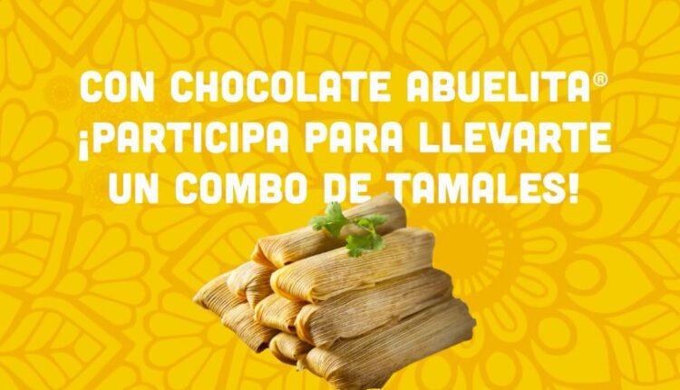Concurso Chocolate Abuelita y Calimax Día de la Candelaria: Gana 1 de 10 premios de 10 tamales