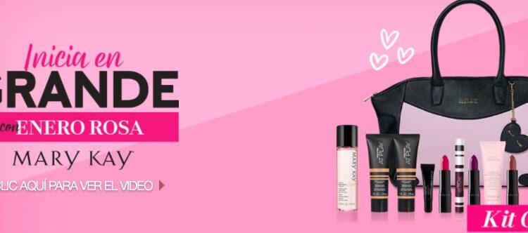 Promoción Mary Kay Enero Rosa 2021: Gana bolsas y kits de maquillaje