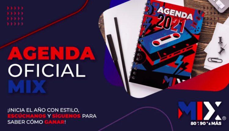 Gana Agendas 2021 en el concurso de Mix FM