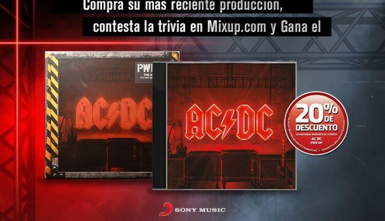 Gana un póster autografiado por Angus-Young de AC/DC cortesía de Mixup