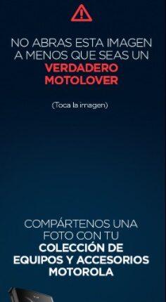 Concurso Motorola Día del Coleccionista: Gana un smartphone Motorola Razr
