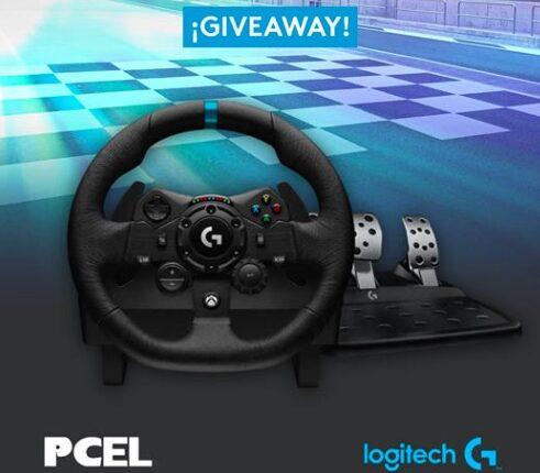 Giveaway PCEL y Logitech: Gana un Volante G923 Driving Force
