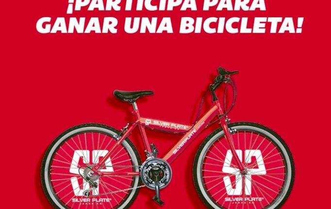 Silver Plate regala 5 bicicletas en su concurso de año nuevo