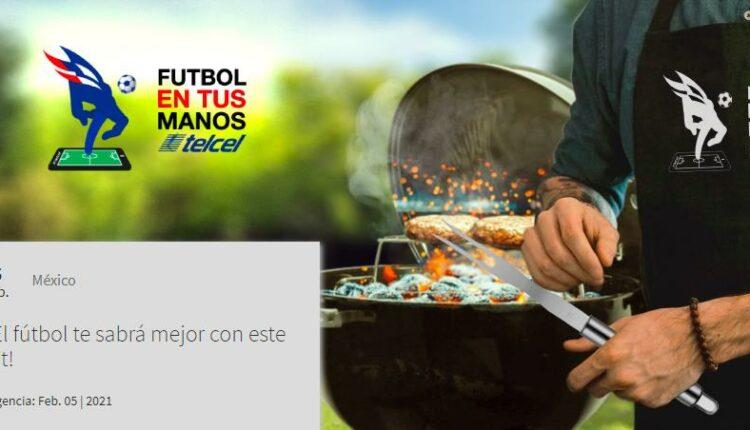 Gana un kit con asador, utensilios y mandil en el concurso de Telcel