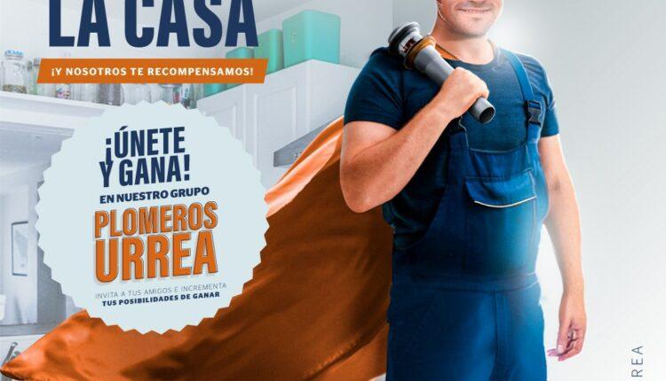 Promoción Urrea Héroe de la Casa: Gana bocinas, smartwatch, tablets y más