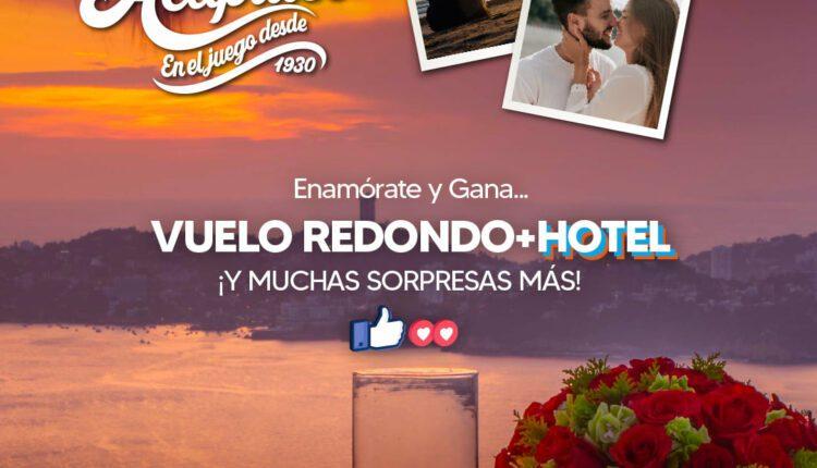 Concurso del Amor y la Amistad Aeromar: Gana viaje a Acapulco