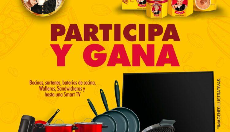 Promoción Casa Ley y Chocolate Abuelita: Gana una pantalla, bocina, baterías de cocina y más