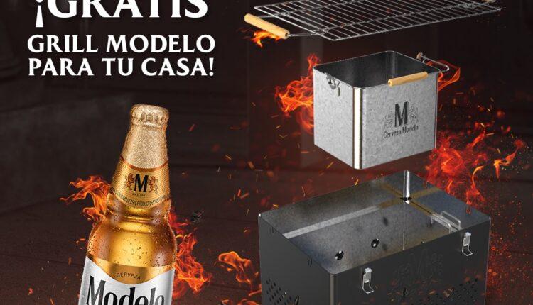 Concurso Cerveza Modelo Parrilla: Gana un grill Modelo
