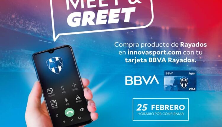 Concurso Innovasport: Gana meet & greet virtual con jugadores de Rayados de Monterrey
