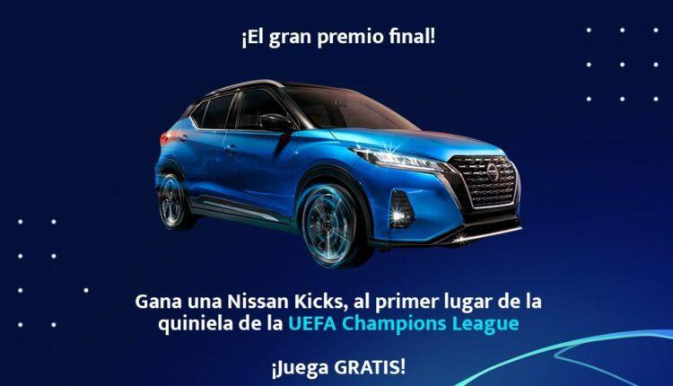 Quiniela UEFA Champions League 2021 de Juan Futbol: Gana una camioneta Nissan Kicks