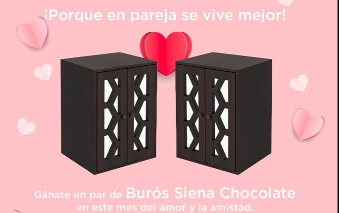 Giveaway del Amor y la Amistad Mobi: Gana un set de burós