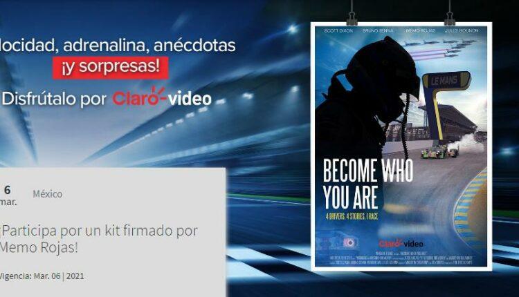 Gana una gorra y una camisa firmadas por Memo Rojas cortesía de Claro Video