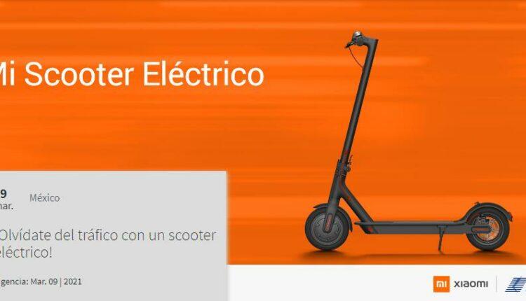 Gana un Mi Scooter Eléctrico cortesía de Xiaomi y Telcel