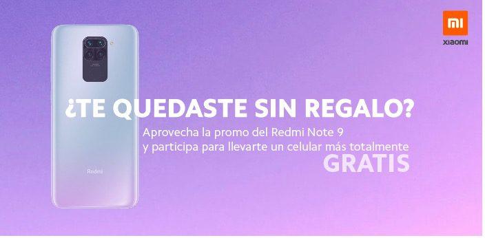 Concurso Xiaomi Regalo de San Valentín: Gana un celular Redmi Note 9
