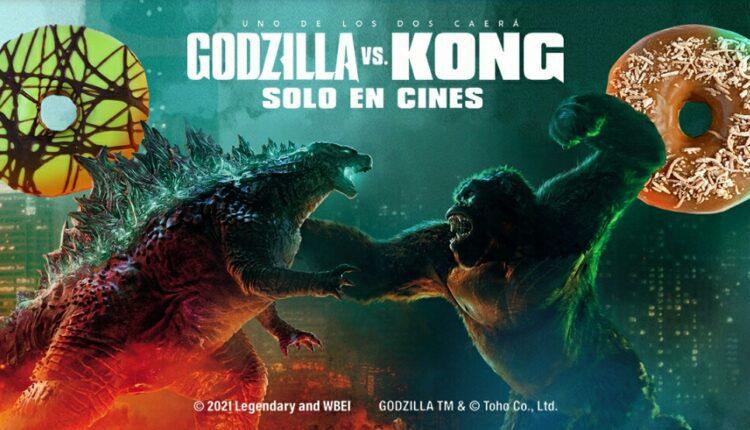 Gana boletos Gratis para la premier de Godzilla vs. Kong cortesía de 7-Eleven