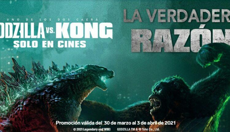 Promoción Godzilla vs Kong 7-Eleven la Verdadera Razón: Gana artículos de la película