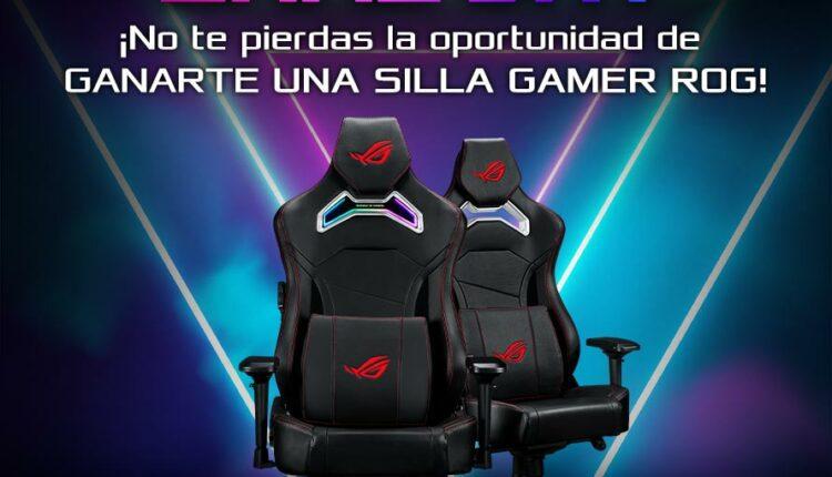 Gana una silla Gamer ROG Chariot en el concurso de Asus México