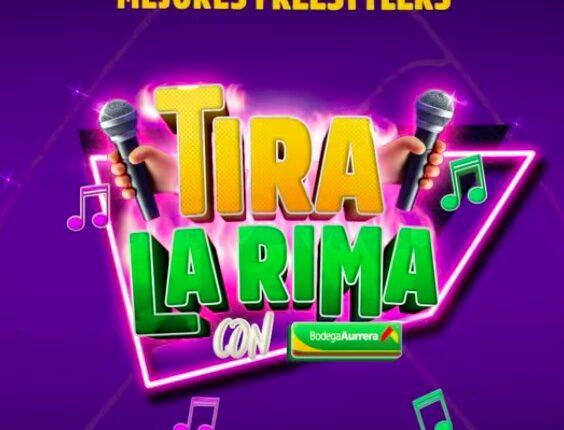 Concurso Tira la Rima con Bodega Aurrerá: Gana Zoom & Greets con Aczino, Lobo Estepario, Rapder y RC TFK