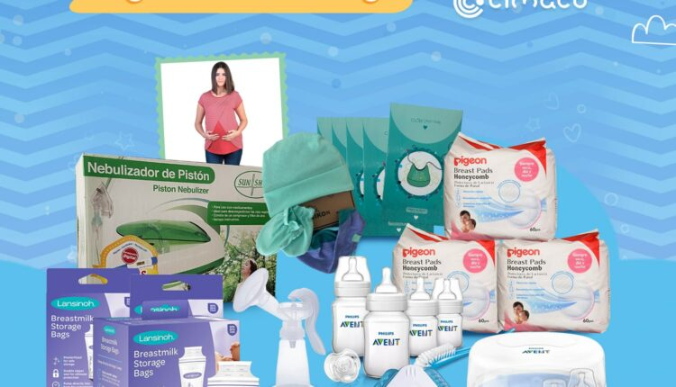 Giveaway Cimaco Quincena del Bebé 2021: Gana un kit de productos