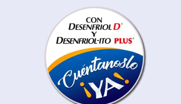 Concurso Desenfriol D y Desenfriol-ito: Gana 1 de 3 audífonos con valor de $3,599