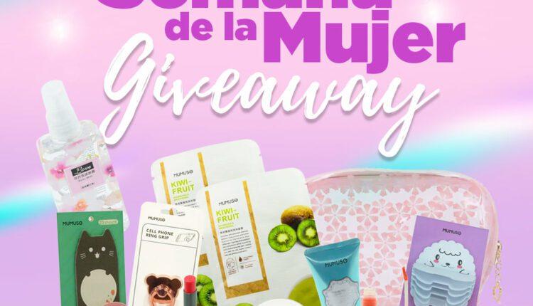 Concurso Famsa Semana de la Mujer: Gana un kit de productos de Mumuso