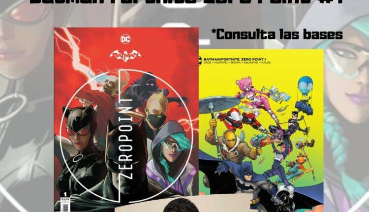 Concurso de dibujo Fortnite 2021: Gana sets de Batman Fortnite Zero Point