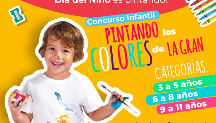 Concurso de dibujo del Día del Niño la Gran Plaza 2021: Gana paquete de premios