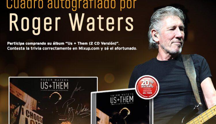 Gana un cuadro autografiado por Roger Waters con Mixup