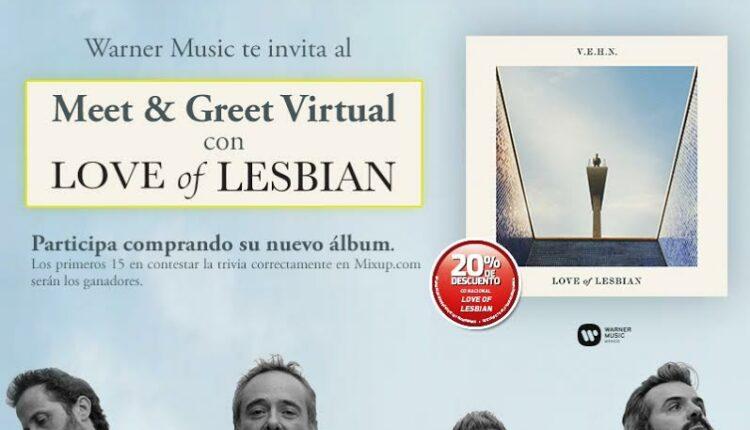 Gana meet & greets virtuales con Love of Lesbian cortesía de Mixup