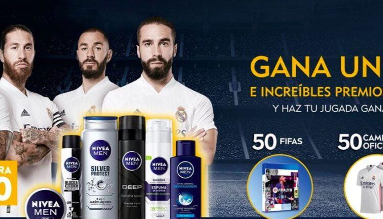 Promoción Nivea Men 2021: Gana 1 de 20 PlayStation 5, jerseys del Real Madrid y más en nivea.com.mx