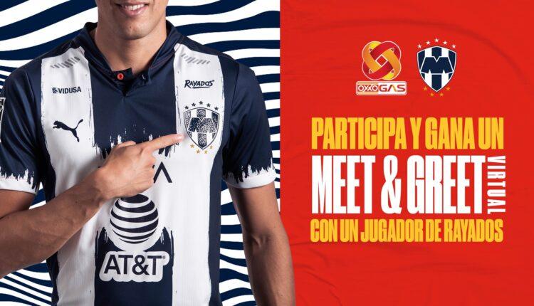 Gana meet & greet virtual con un jugador de Rayados en el concurso de Oxxo Gas