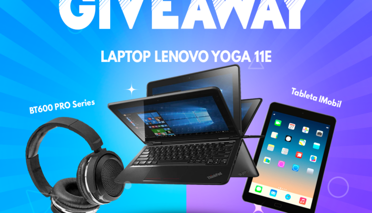 Giveaway PC One León: Gana laptop Lenovo, tablet o audífonos