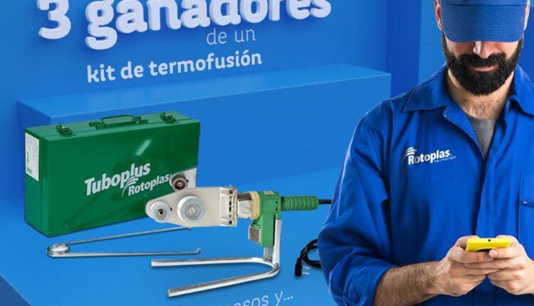 Concurso Rotoplas Ya Es Tubo: Gana un kit de termofusión