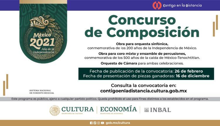 Concurso de composición para conmemorar nuestra memoria histórica: Gana hasta $100,000