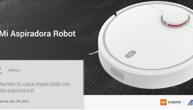 Gana una aspiradora Mi Robot cortesía de Xiaomi y Telcel