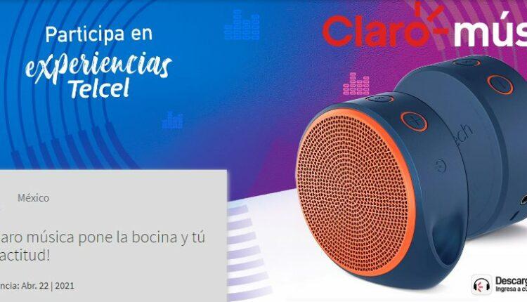 Gana 1 de 7 bocinas Logitech cortesía de Telcel y Claro Música