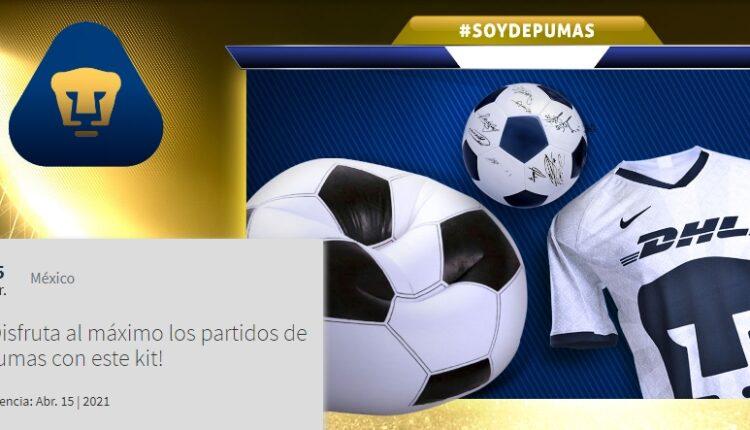 Concurso Soy de Pumas: Gana balón firmado, jersey oficial y un par de sillones puffs
