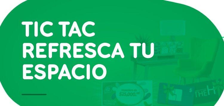 Concurso Tic Tac 2021: Gana hasta $25,000 para renovar tu espacio en tictac.com