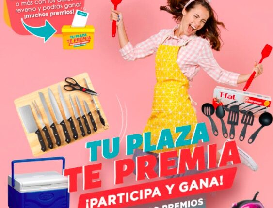 Tu Plaza te Premia 2021: Gana premios en tu centro comercial
