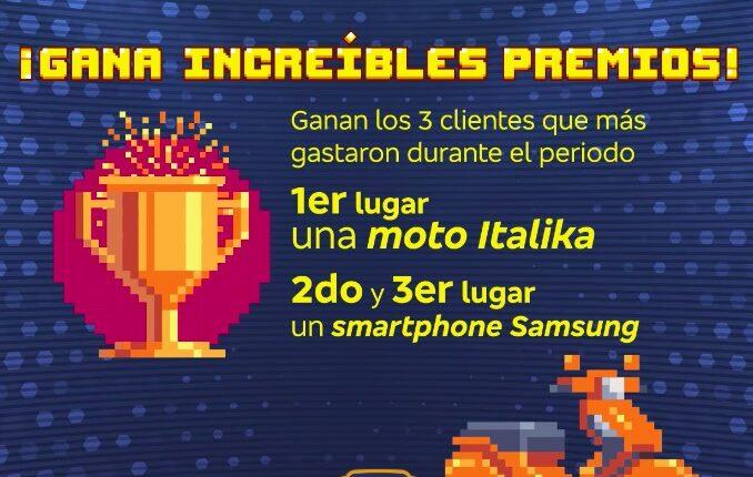 Torneo de Compras Bradescard: Gana moto Italika, smartphones Samsung y más