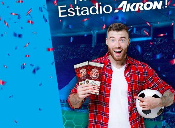 Boletos gratis para el partido de Liga MX Chivas vs. Tigres cortesía de Akron