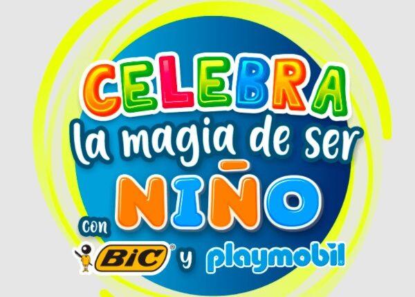 Concurso BIC La Magia de ser Niño: Gana kits Playmobil de hasta $4,000 en lamagiabic.mx
