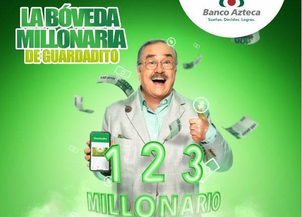 Bóveda Millonaria Guardadito Banco Azteca 2021: Gana hasta 1 millón de pesos