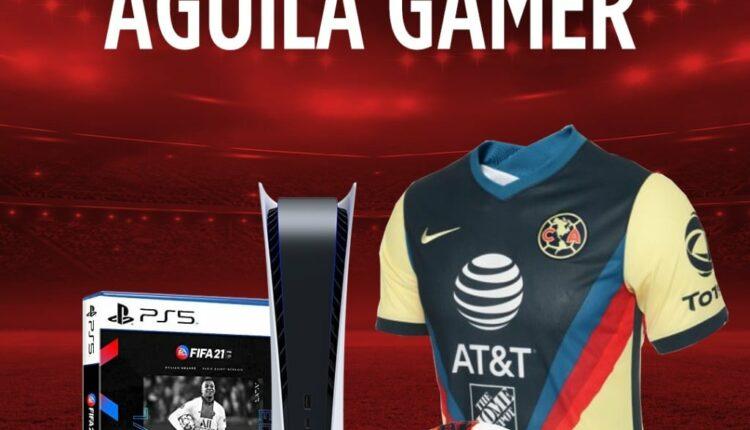 Giveaway Caliente y Club América: Gana PlayStation 5, FIFA 21 y más