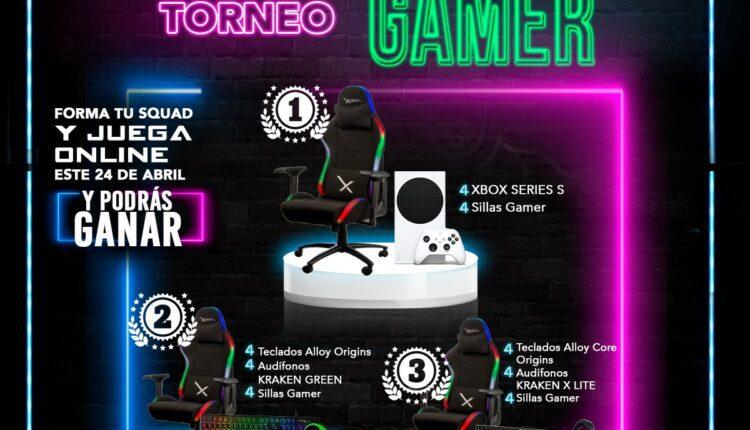 Toneo Gamer City Club: Gana consolas Xbox Series S, sillas gamer y más
