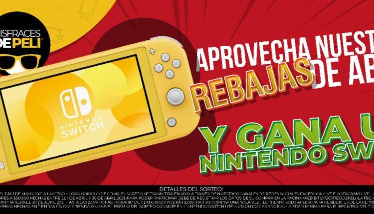 Participa por un Nintendo Switch Lite con Disfraces de Peli