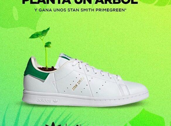 Concurso Día de la Tierra Dpstreet Planta un Árbol: Gana unos tenis Adidas Stan Smith Primegreen